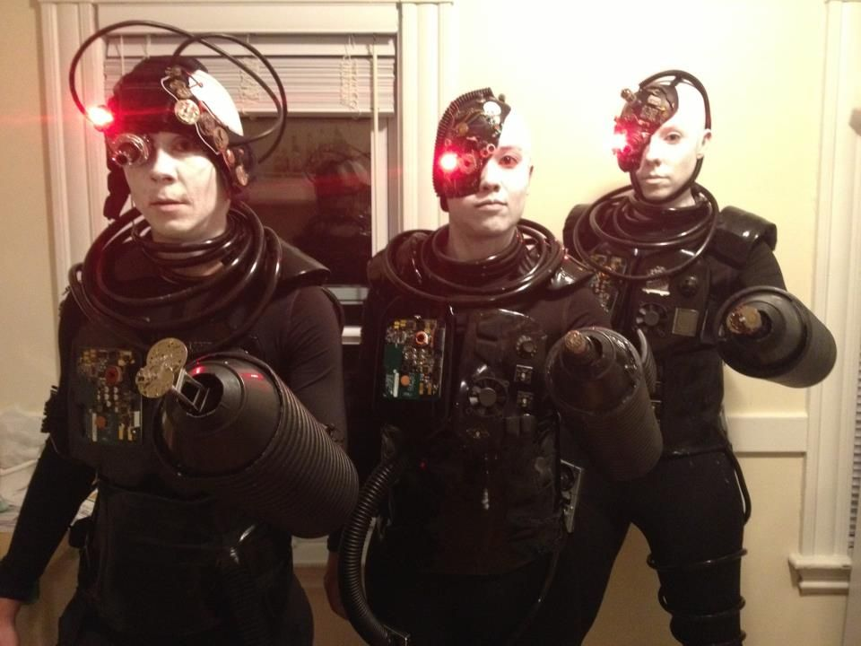 we are borg you will be assimilated resistance is futile my halloween costume - Borg Halloween Costume
