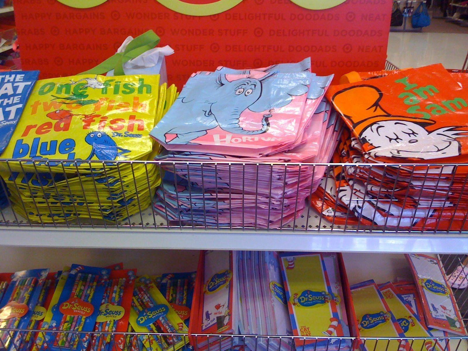 Kaylyn Hicks Steele Dr Seuss Bags Looks Like From Targets Aisle Goo