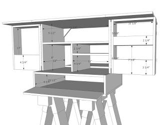 Camping Kitchen Chuck Box Plans
