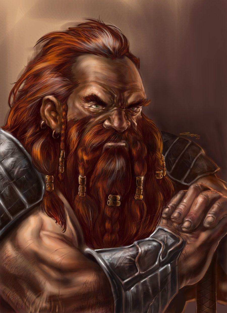 Snow Dwarves, , Bardofsky - computer graphics plus ... |Dwarf Male Portrait