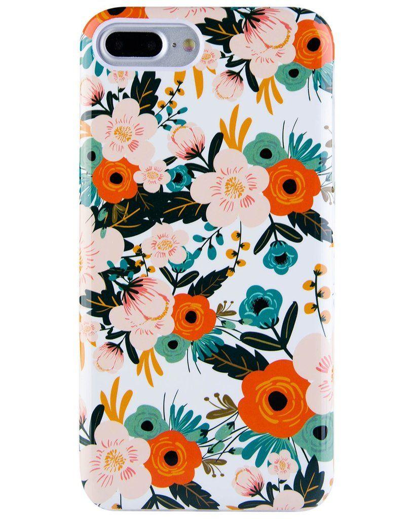 Obsession Camellia Floral Case Goospery Iphone 8 Hybrid Dream Bumper Jet Black