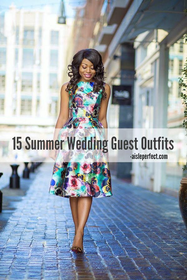 Unique Summer Wedding Guest Outfits