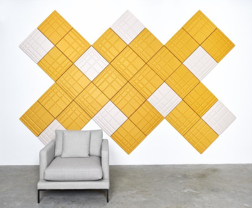 felt wall tiles / Ecoustic® Linear #materials #design #walltiles ...