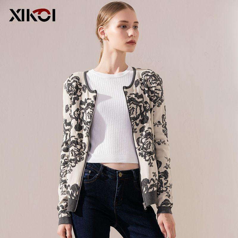 Ladies Sweater Full Sleeve Women's Cardigans Clothes Coats ...