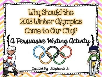 Students Will Write A Persuasive Speech To The International