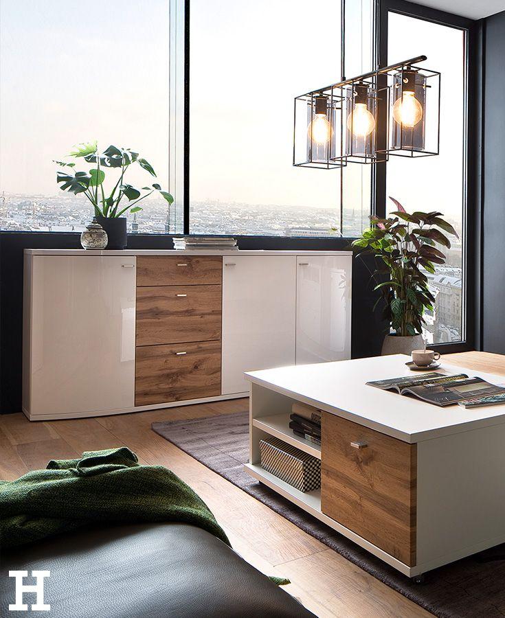 Großartig Traumpaar: Holz U0026 Weiß #möbel #wohnzimmer #sideboard #einrichten #ideen  #
