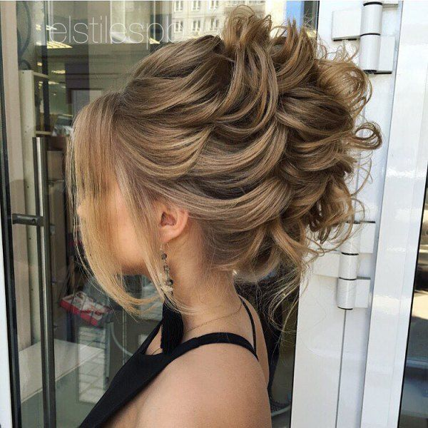 40 Most Delightful Prom Updos For Long Hair In 2020 Con Imagenes
