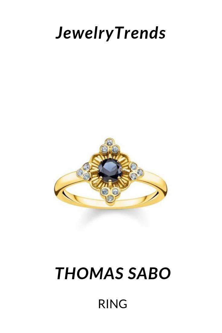 Thomas Sabo Thomas Sabo Thomas Sabo Ring Blue Stone