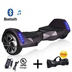 Alienboard Batwings Smart Balance Board With Bluetooth Speaker
