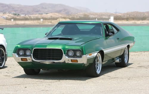 1972 Ford Gran Torino Sport Classic Cars Tv Cars Muscle Cars