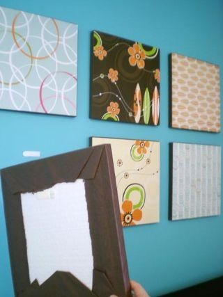 Cheap Decorating For Kids Rooms Foam With Brown Tissue Paper And Scrapbook Over Itwould Be Nice A Ribbon Edge Photo In The Center Of It