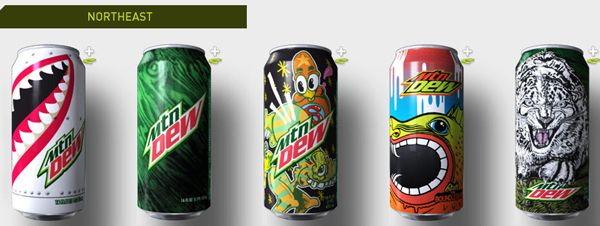 mountain dew debuts green label art shop series – popsop  | mtn