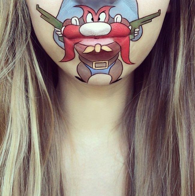 New_Cartoon_Lip_Art_Creations_by_Makeup_Artist_Laura_Jenkinson_2015_06