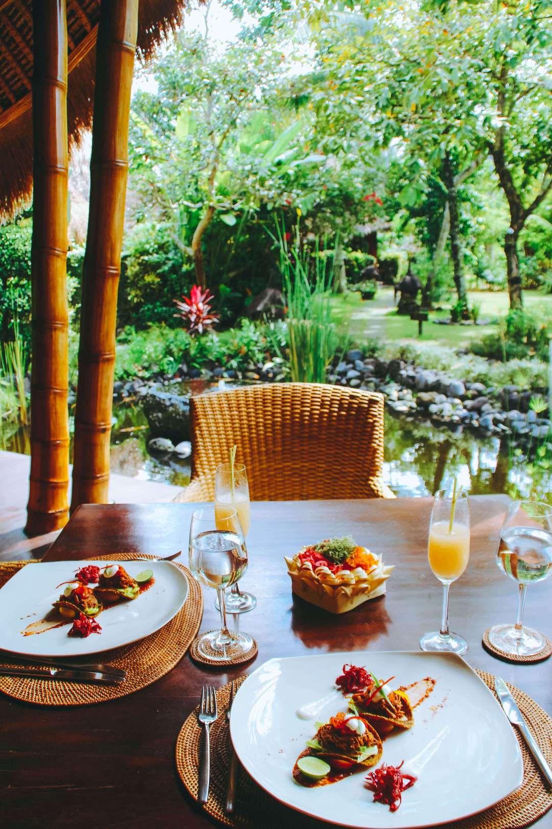 Sakti Dining Room at Fivelements Ubud, Bali