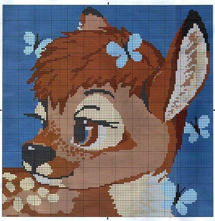 quadro-bambi-disney-ponto-cruz.jpg 748×768 piksel