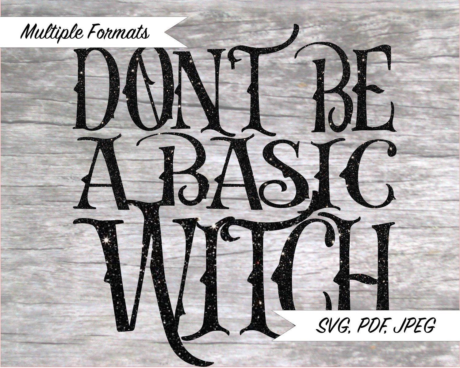 Download Basic Witch SVG Design | Witch, Silhouette projects, Cricut