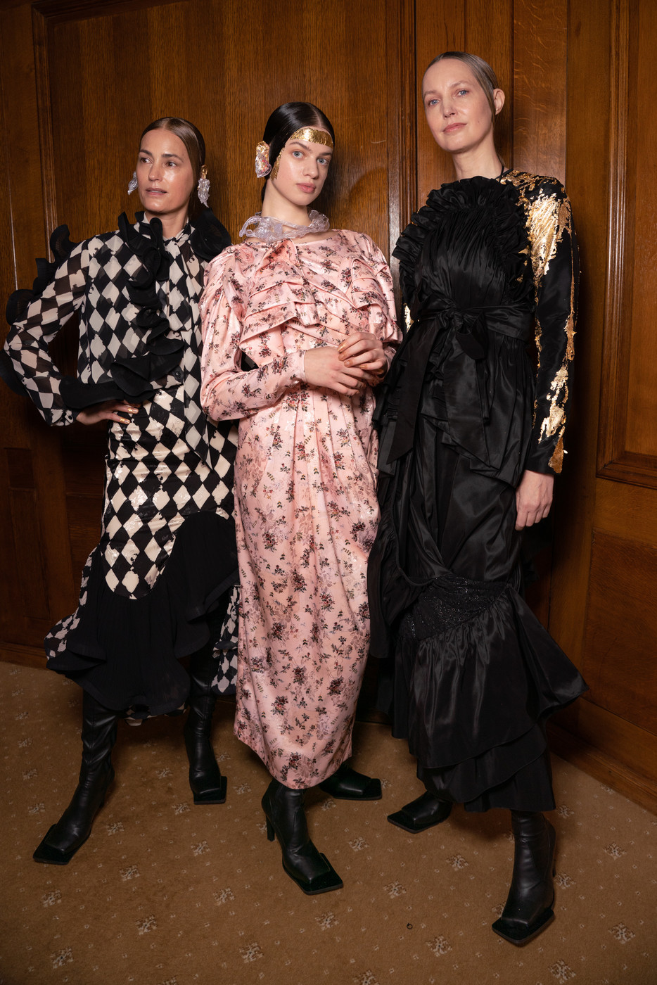 Preen At London Fashion Week Fall 2020 In 2020 Fashion Fashion Week Preening
