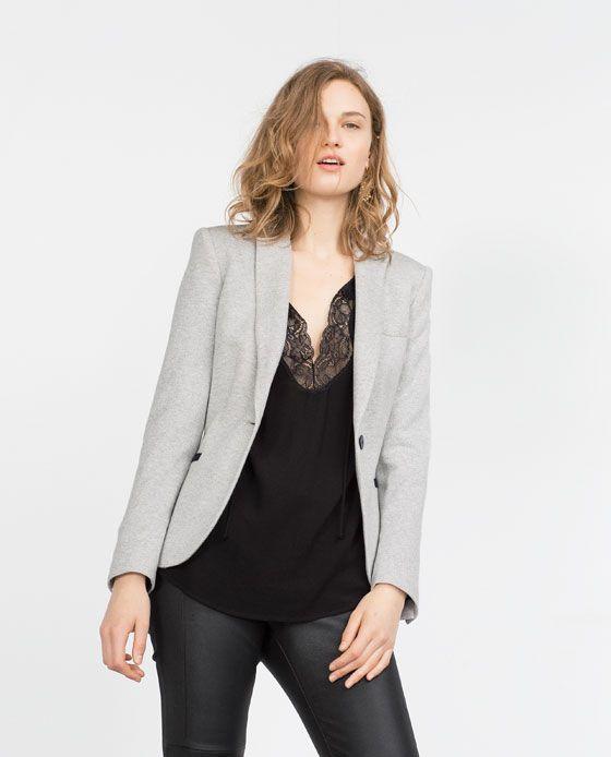 GREY BLAZER Style combo Pinterest Blazers Gray and Office