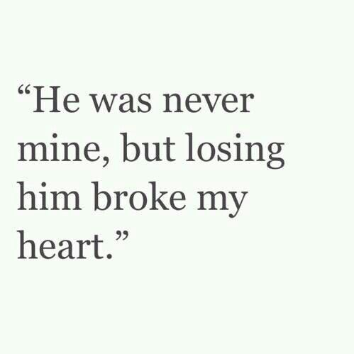 Broke My Heart Love And Other Things That Break My Heart Quotes