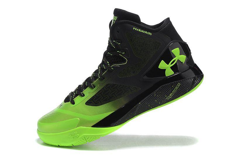 Woman's Under Armour UA ClutchFit Drive 2 Basketball Shoes Lime/Black