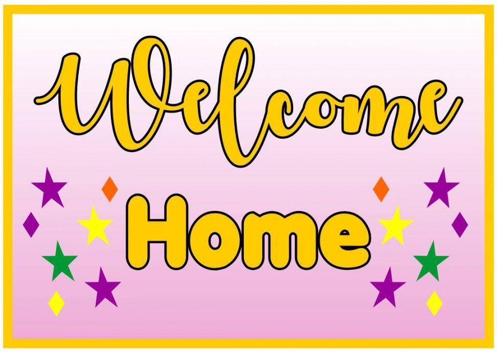 Welcome Home Banner Template Welcome Home Banners Banner Template Welcome Home Signs
