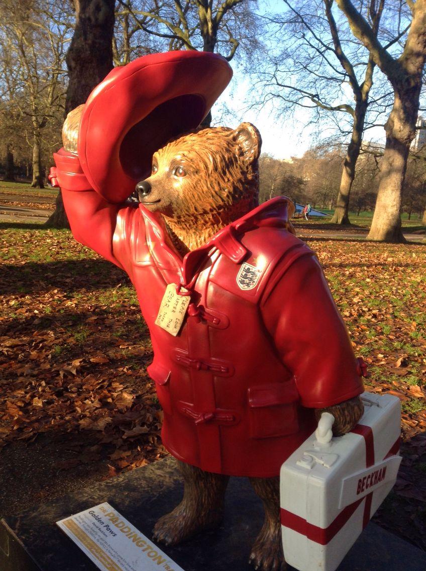 Paddington bear in red. #paddington