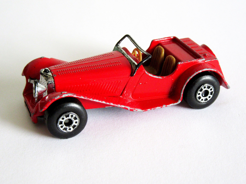 Matchbox ss 100 jaguar from 1982  Metal Car Toy  Diecast toys