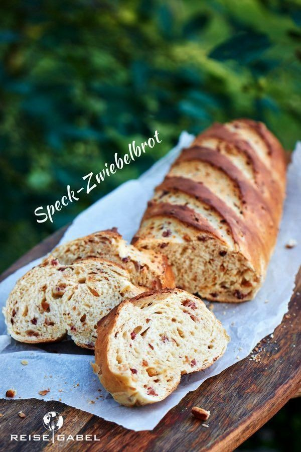 onion bread perfect for grilling - travel fork -  With the recipe for the bacon and onion bread, yo