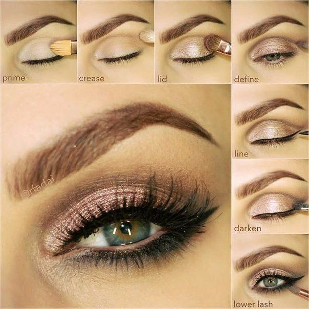 Neutral Bronze Makeup Tutorial Step By Step Guide Simple Holiday
