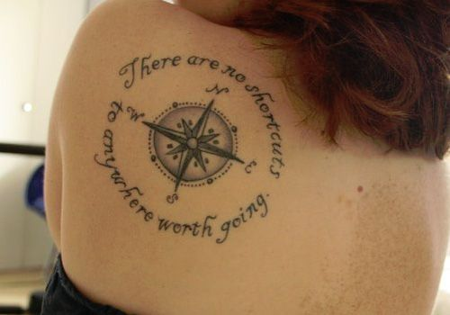 Old World Map Back Tattoo. Old World Map Tattoo  Arm Compass Tattoos Pinterest
