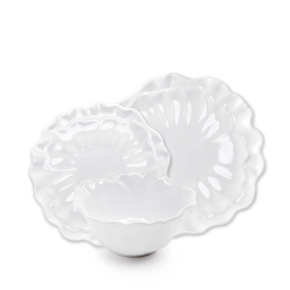 Peony White Melamine 12pc Dinnerware Set  sc 1 st  Pinterest & Peony White Melamine 12pc Dinnerware Set | Dinnerware Peony and ...