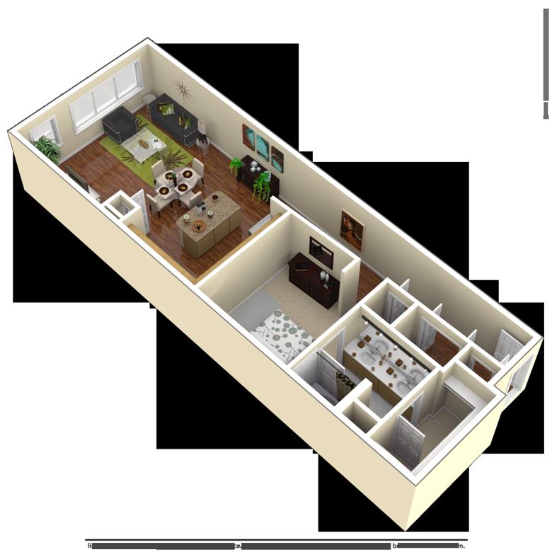 Studio, 1, 2 Bedroom Houston