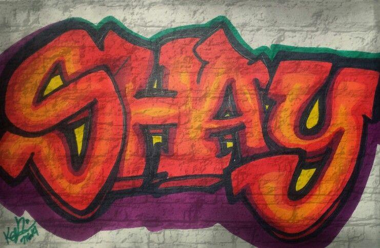 Shay Graffiti Markers