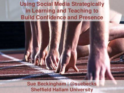 Using Social Media Strategically for Learning and Teaching