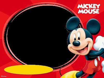 Marcos Png de Mickey Mouse para Niños. ~ Marcos Gratis para ...