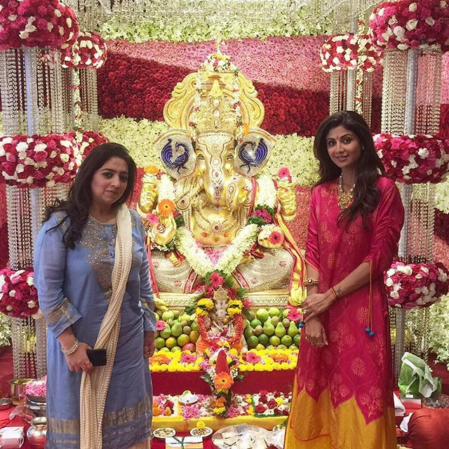 What A Beautiful Ganesh Creation At My Friend Poojawadhawan S