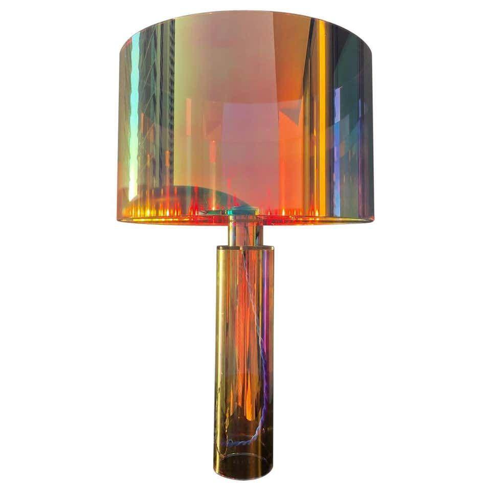 Kinetic Colors Table Lamp By Brajak Vitberg In 2020 Colorful Table Table Lamp Design Table Lamp