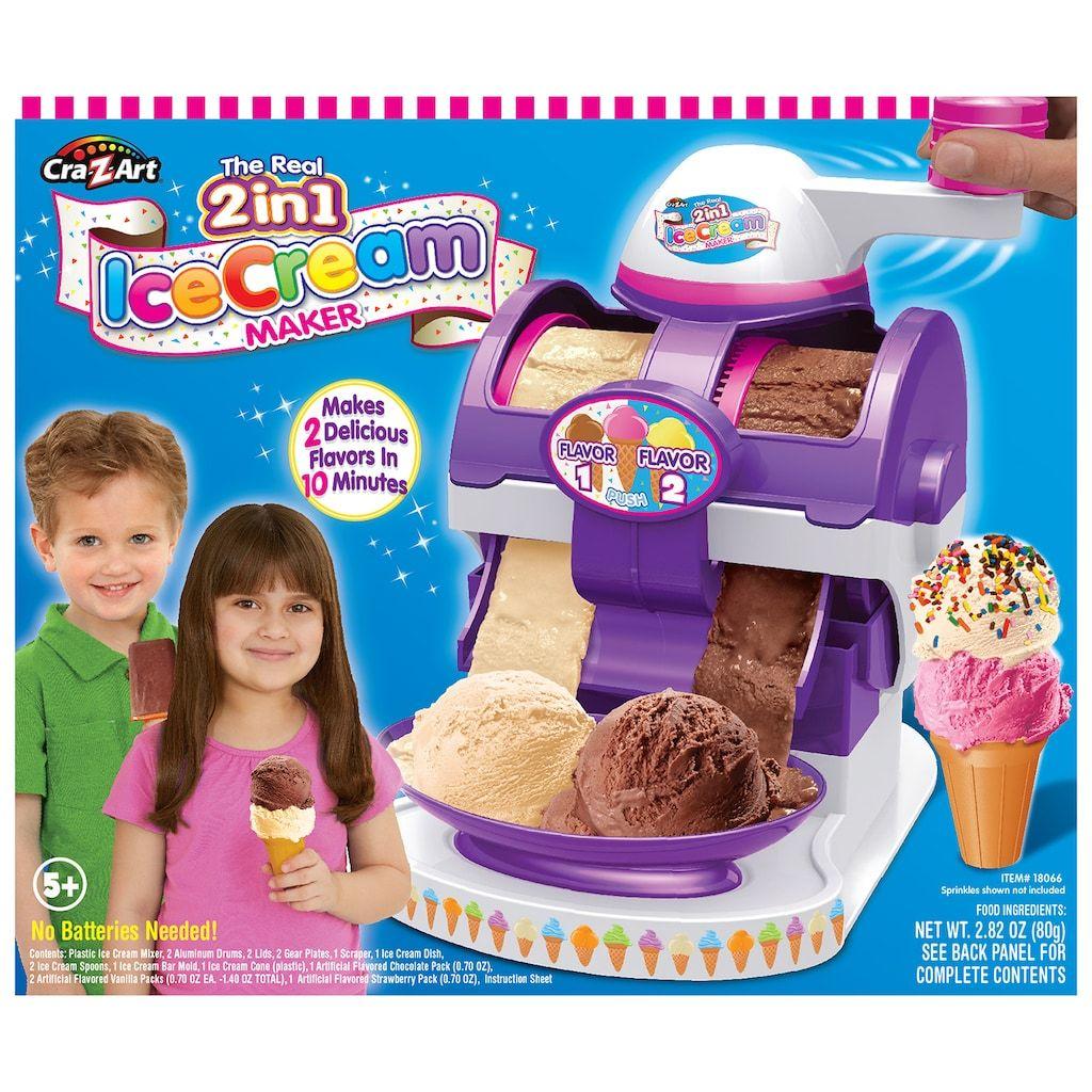 CraZArt The Real Ice Cream Maker Kids ice cream maker