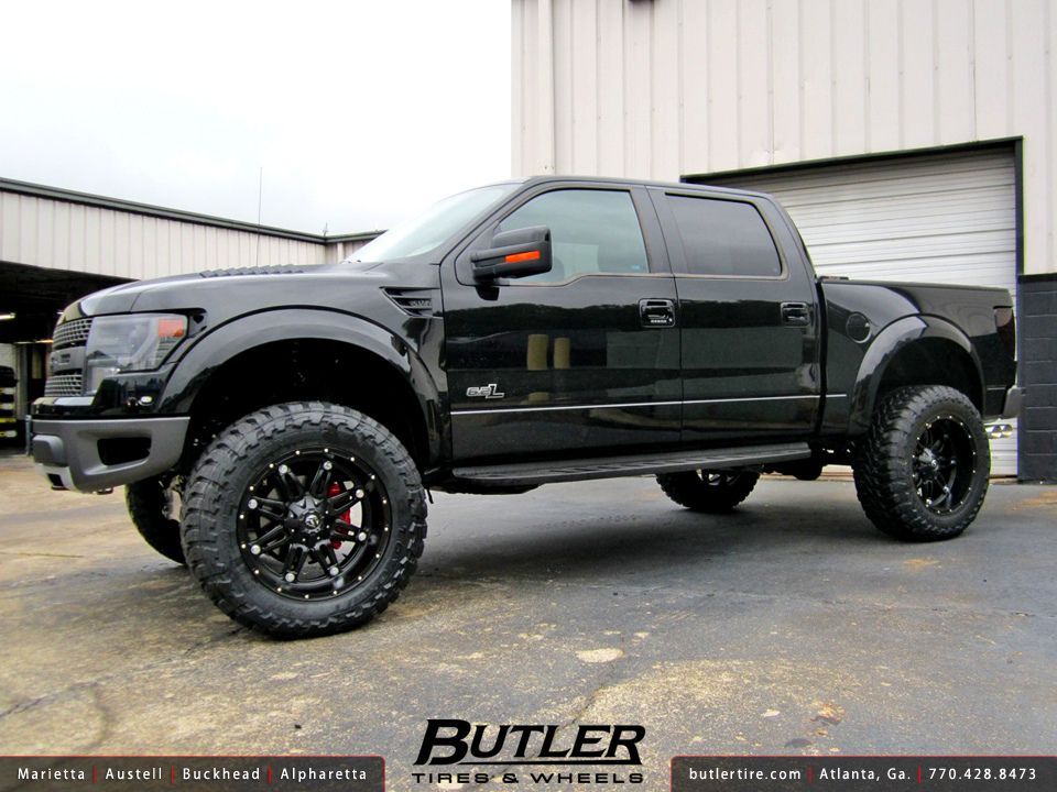 2014 Ford Raptor With 22in Fuel Hostage Wheels 2014 Ford Raptor