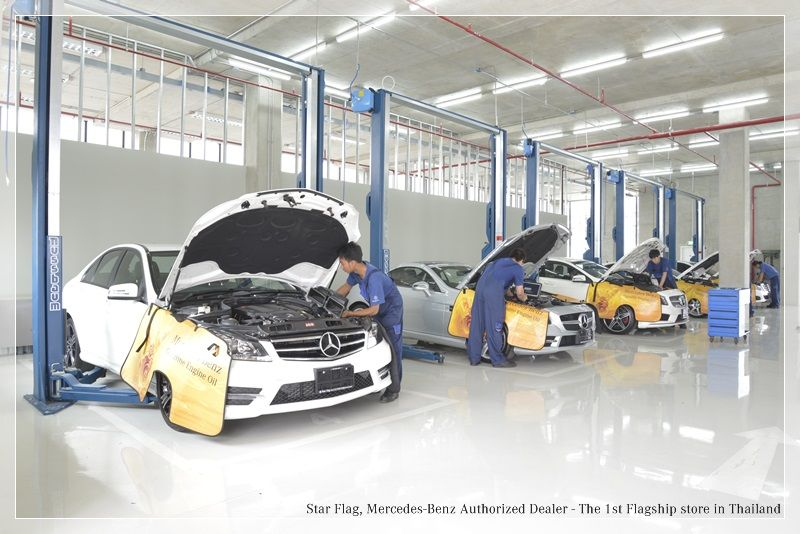 Star Flag AfterSales Service Excellence Guaranteed With Awards - Authorized mercedes benz repair shops
