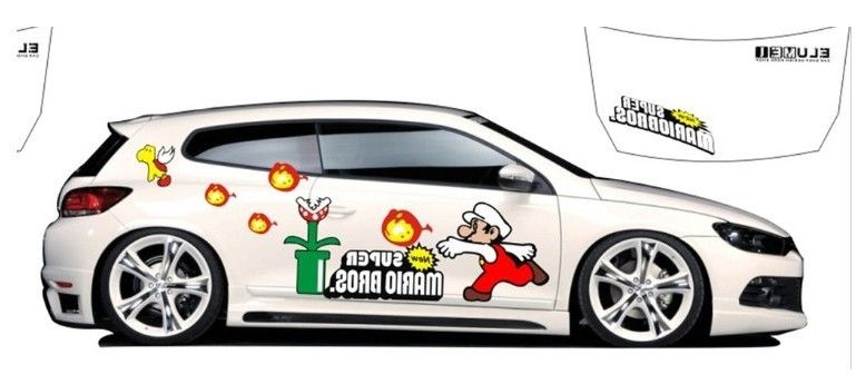 Our gift cards entitle the recipient to custom stickers for cars design and create their own