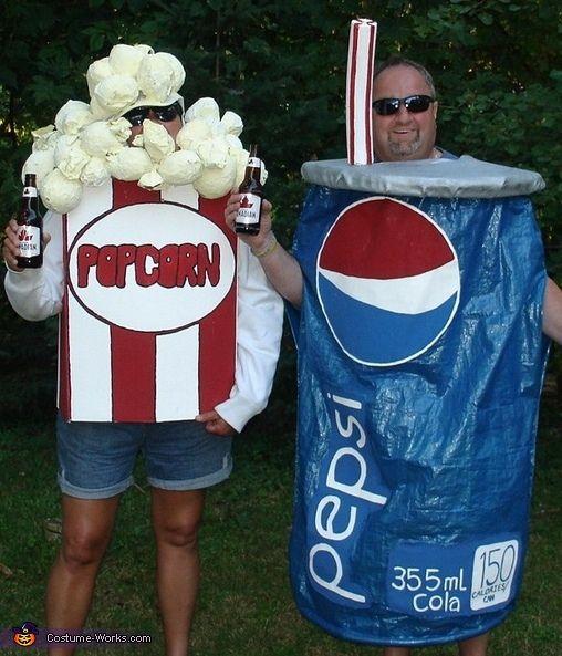 Popcorn and Pepsi - Halloween Costume Contest at Costume