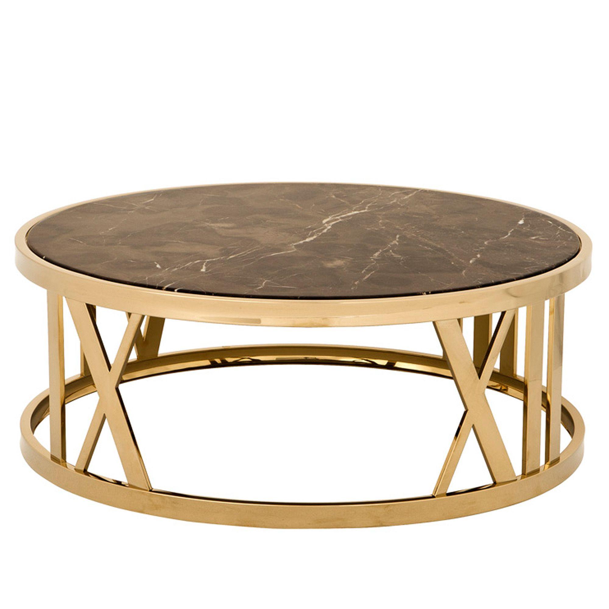 Eichholtz ronde salontafel coffee table roman figures