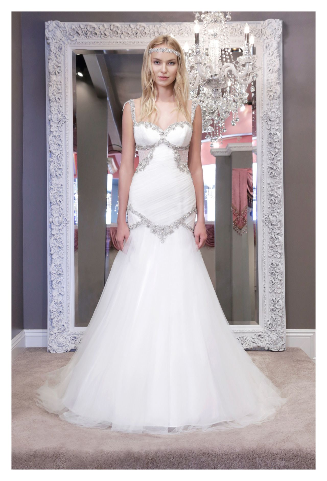 The Winnie Couture Wedding Dresses 2016 Collection Are All About Red Carpet Style Sparkle With Sophisticated Glamour And Timeless Elegance