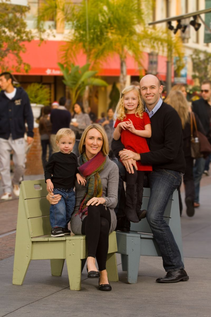 Hartman family portrait at The Grove.  2012