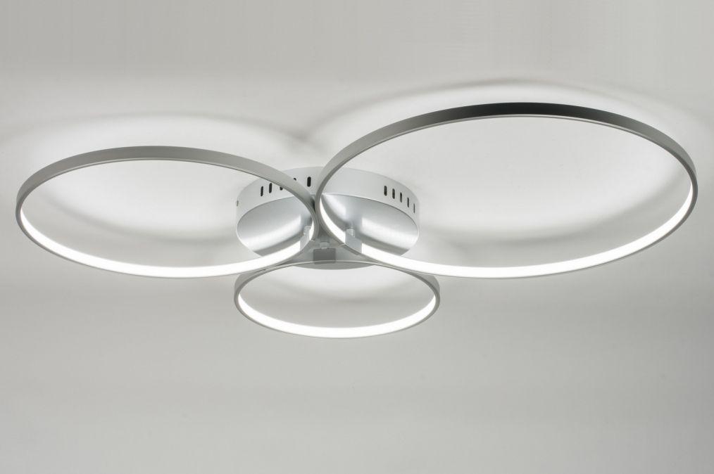 Deckenleuchte 72100: Modern, Design, Kunststoff Plexiglas, Metall ...