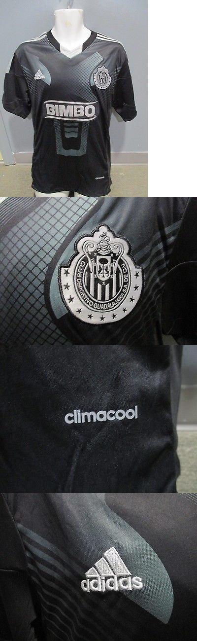 Men 123490: Club Chivas Guadalajara Black Manga Corta Adidas Seleccion Mexicana -> BUY IT NOW ONLY: $99.9 on eBay!