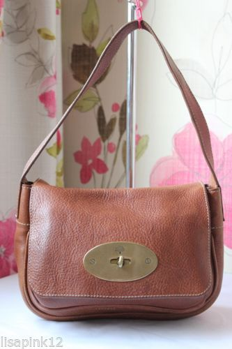 MULBERRY Bayswater Clutch Bag In Oak NVT Leather Bag. Good Condition ... c6c75289683d4