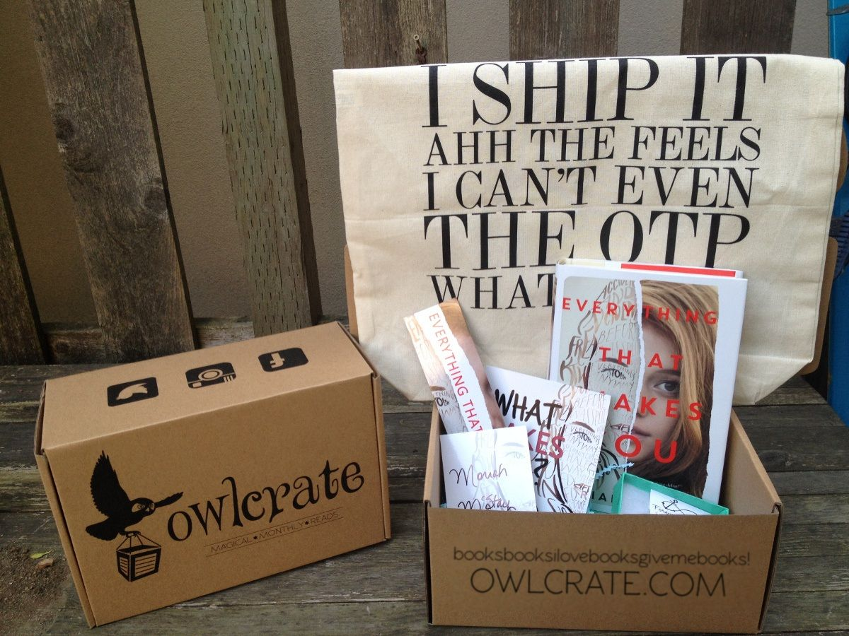 Owl Crate Book Subscription Box Book Subscription Monthly Book Box