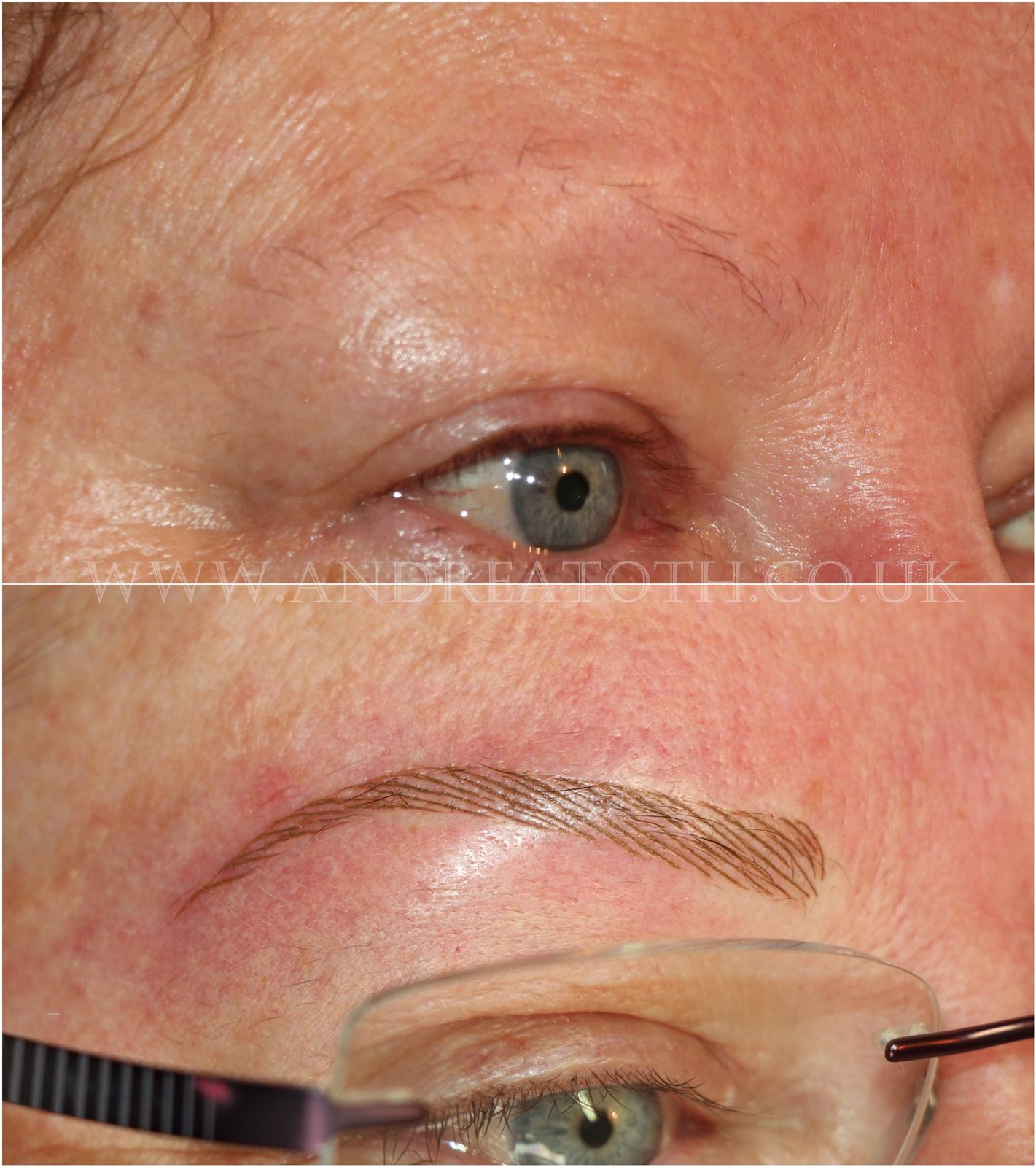 Hair Stroke Eyebrows Semi Permanent Makeup Semi